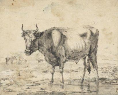 ATTRIBUÉ À JEAN LOUIS DEMARNE (1752-1829)