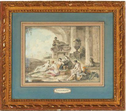 JEAN-BAPTISTE LALLEMAND (1616-1803)
