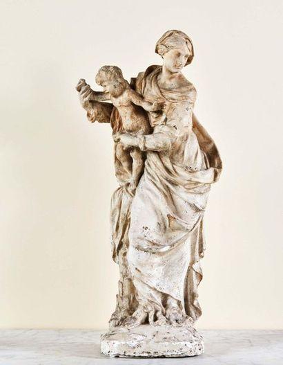 Vierge à l'Enfant, dite Notre-Dame des Grâces,...