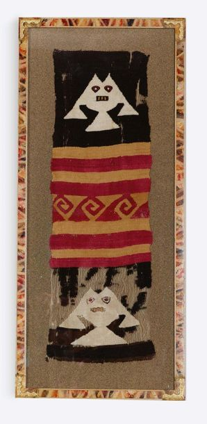Tessuto in stile Incas, frammento Tissu de...