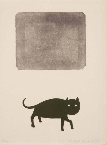 EDUARDO ARROYO (MADRID 1937 - 2018) Senza titolo Incisione, prova d'artista, firmata...