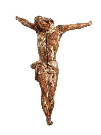 CRISTO in legno scolpito XVI secolo (danni...