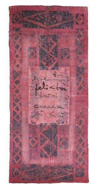 ANNA MORO LIN (VENEZIA 1929) Felicità, 2005 Collage, carta, garza e pittura Collage,...