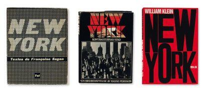 Ensemble de huit ouvrages: New York. Textes...