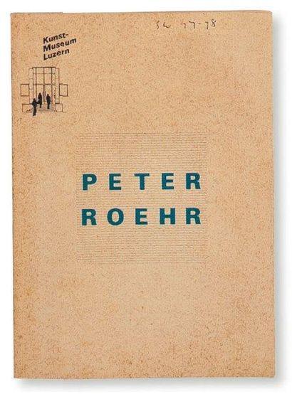 Ensemble de trois ouvrages: ROEHR, PETER...