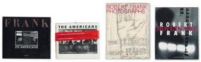 Ensemble de cinq ouvrages: FRANK, ROBERT...