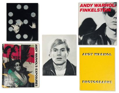 Ensemble de cinq ouvrages: WARHOL, ANDY (1930-1987)...