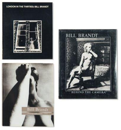 Ensemble de cinq ouvrages: BRANDT, BILL (1928-1983)...