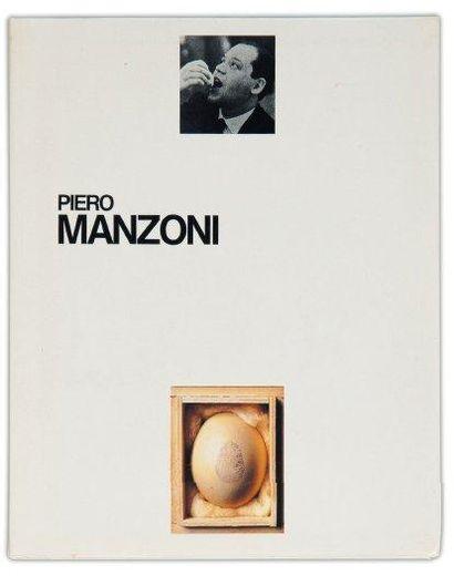 Ensemble de deux ouvrages: MANZONI, PIERO...