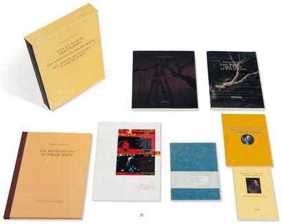 Ensemble de neuf ouvrages: CORILLON, PATRICK...