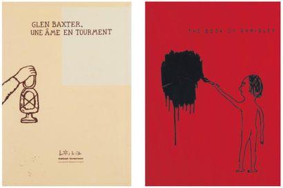 Ensemble de deux ouvrages: BAXTER, GLEN (1944)...