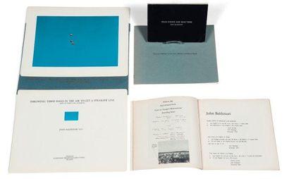 Ensemble de trois ouvrages: BALDESSARI, JOHN...