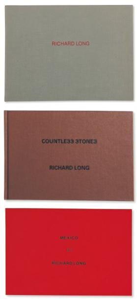 Ensemble de cinq ouvrages: LONG, RICHARD (1945) Trois livres publiés par le Van...