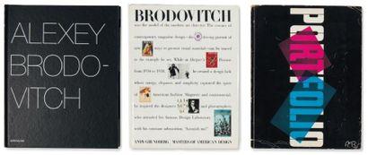 Ensemble de cinq ouvrages: BRODOVITCH, ALEXEY...
