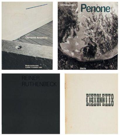 Ensemble de sept ouvrages: ANSELMO, GIOVANNI...