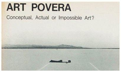 Art povera. Conceptual, Actual or Impossible...