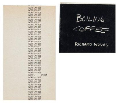 Ensemble de trois ouvrages: WORDSWORDS WORDSWORDS. Bochum / Genova: Museum Bochum...