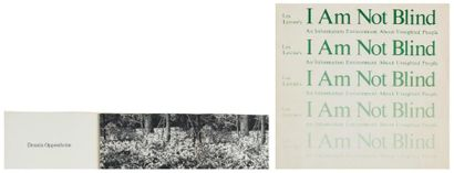 Ensemble de trois ouvrages: OPPENHEIM, DENNIS (1938-2011) Flower Arrangement for...
