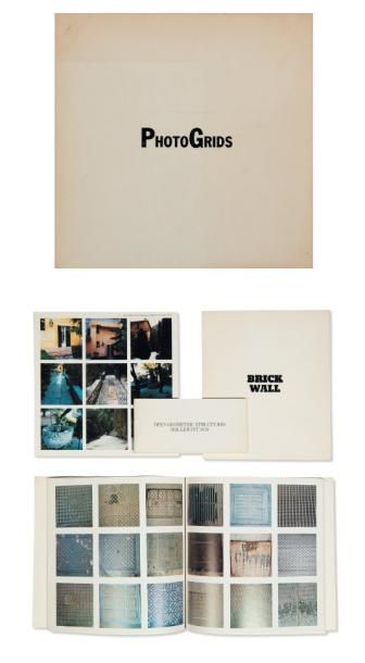 Ensemble de quatre ouvrages: LEWITT, SOL (1928-2007) Books from the seventies From...