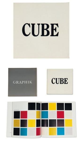 Ensemble de trois ouvrages: LEWITT, SOL (1928-2007) Graphik 1970-1975. Basel / Bern:...
