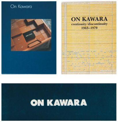 Ensemble de huit ouvrages: KAWARA, ON (1933)...