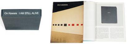 Ensemble de trois ouvrages: KAWARA, ON (1933) On Kawara. 1973 - Produktion eines...