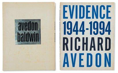 Ensemble de trois ouvrages: AVEDON, RICHARD...