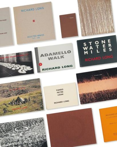 Ensemble de treize ouvrages: LONG, RICHARD...