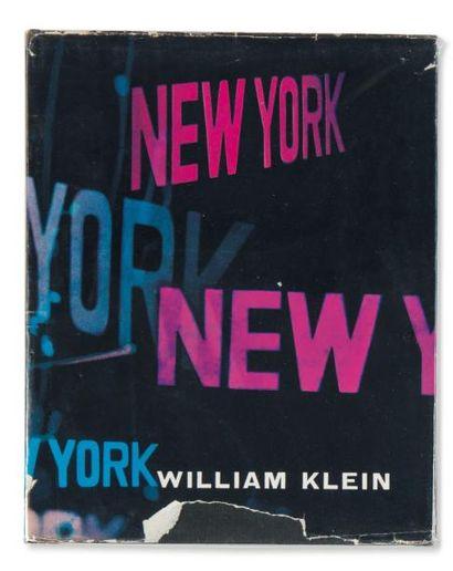 Ensemble de trois ouvrages: KLEIN, WILLIAM...