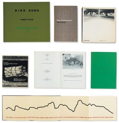 Ensemble de cinq ouvrages: BURGIN, VICTOR...