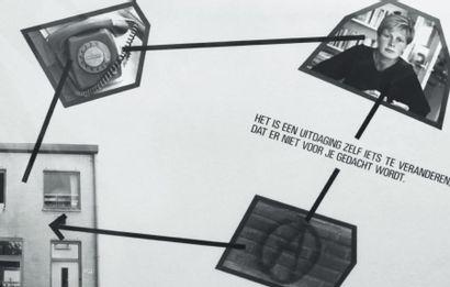 Ensemble de neuf ouvrages et quatre panneaux photographiques: DIBBETS, JAN (1941)...