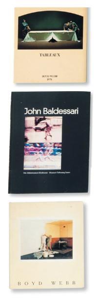 Ensemble de cinq ouvrages: BALDESSARI, JOHN...