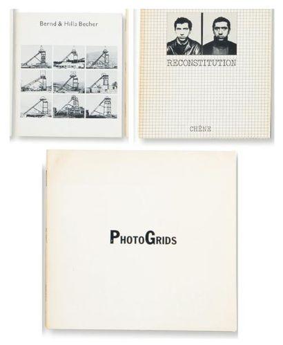 Ensemble de trois ouvrages: BECHER, BERND (1931-2007) ET HILLA (1934) Bernd and...