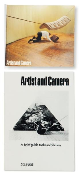 ARTIST AND CAMERA - THE CATALOGUE Artist and Camera. London: Arts Council of Great...