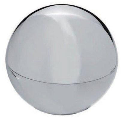 MARTIN SZEKELY / CHRISTOFLE Boîte boule Métal argenté D_6 cm