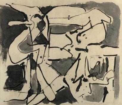 PIERRE ALECHINSKY (NÉ EN 1927)