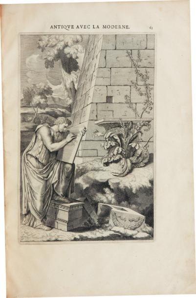 FRÉART (Roland, sieur de Chambray) Parallèle de l'architecture antique et de la moderne:...