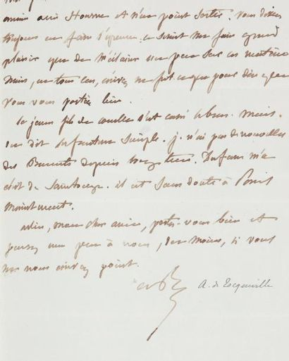 LANJUINAIS Archives - XVIIIe-XXe siècles, propriété de la famille La Rochefoucauld....