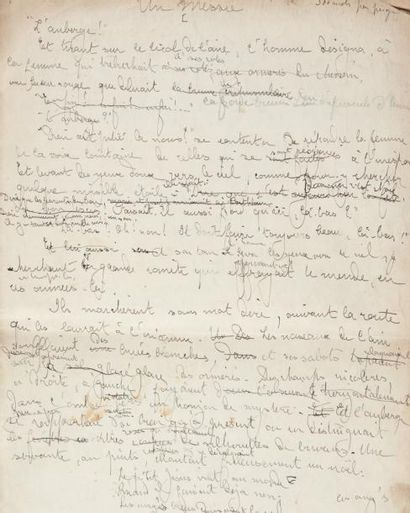 MERRILL Stuart (1863-1915) Poète américain à la voix originale, l'un des théoriciens...