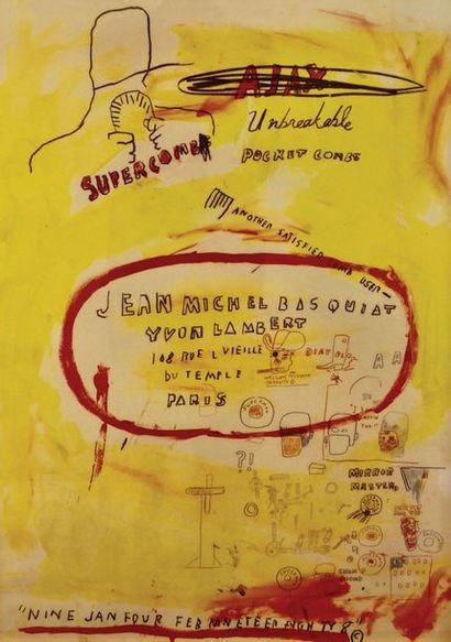 Jean-Michel Basquiat ( 1960–1988)