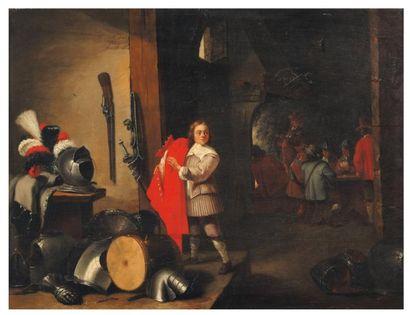 ATTRIBUÉ À ABRAHAM TENIERS (1629-1670)