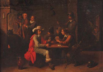 ATTRIBUÉ À MATTHEUS VAN HELMONT (1650-1714)