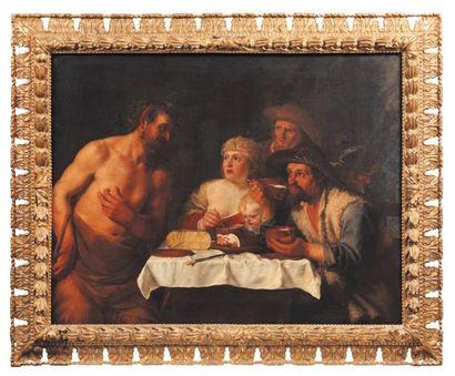 ATTRIBUÉ À JOHANNES LISS (1597-1629)