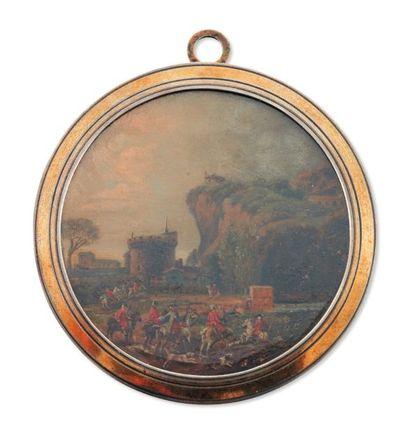 LOUIS-NICOLAS VAN BLARENBERGHE (LILLE, 15 JUILLET 1716 - FONTAINEBLEAU, 1ER MAI 1794)