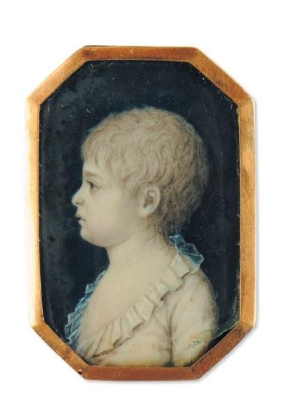 ECOLE FRANÇAISE VERS 1790