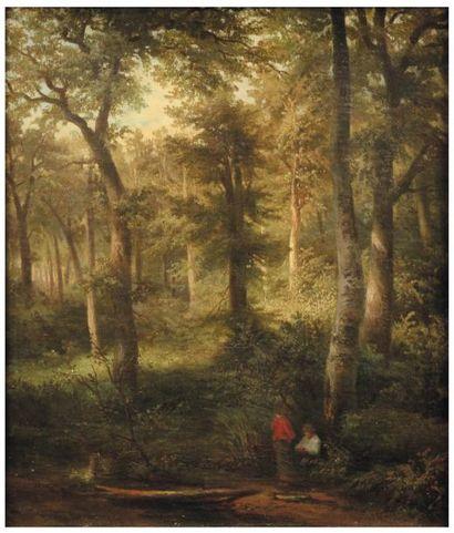 WILLEM KOEKKOEK (AMSTERDAM 1839-NIEUWER-AMSTEL 1895)