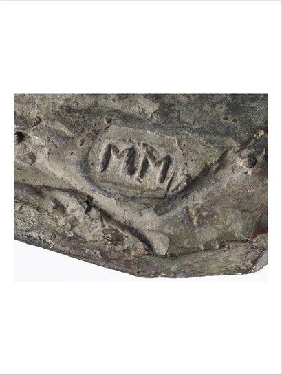 Marino MARINI (1901-1980) Piccola Pomona, 1943 Bronze à patine brun vert. Signé des...