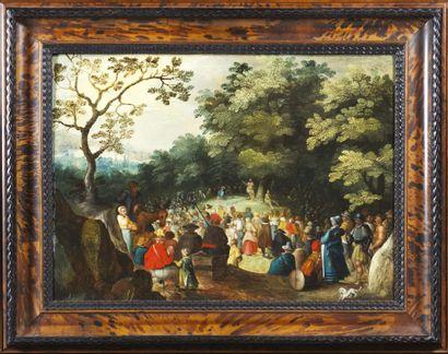 ÉCOLE FLAMANDE VERS 1610, ENTOURAGE DE DAVID VINCKBOONS