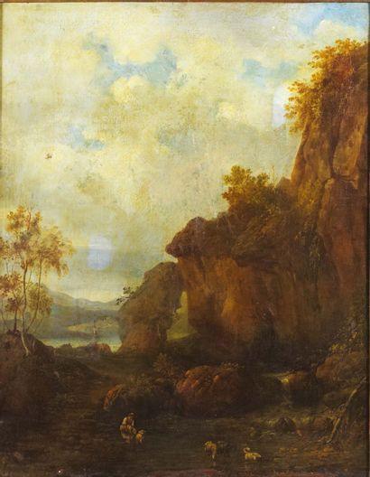 ATTRIBUÉ À FRANCISQUE II MILLET (1666 - 1723)