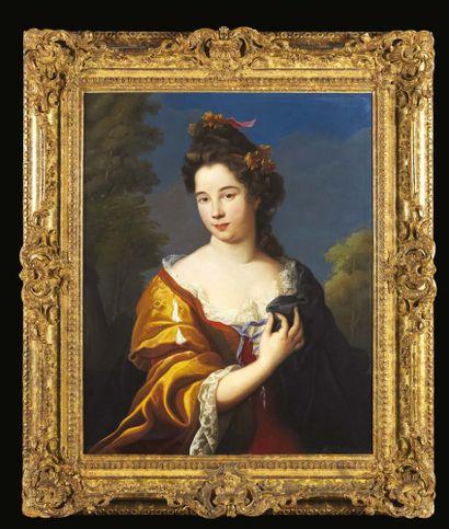 ATTRIBUÉ À NICOLAS FOURCHER (1653 - 1733)